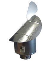 Galvanized Rotational Wind Cap 6
